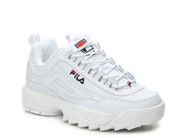 red fila shoes